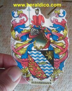 pegatinas heraldica personalizadas