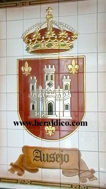 Escudo municipal ceramica