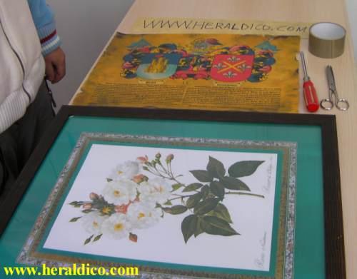 Como enmarcar un lienzo awesome with como enmarcar un for Enmarcar cuadros en casa