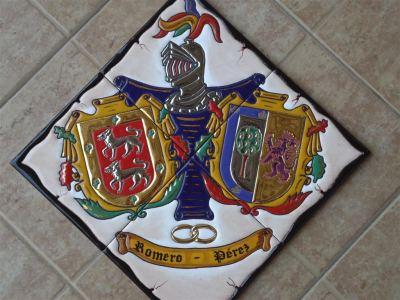 Heraldica en ceramica